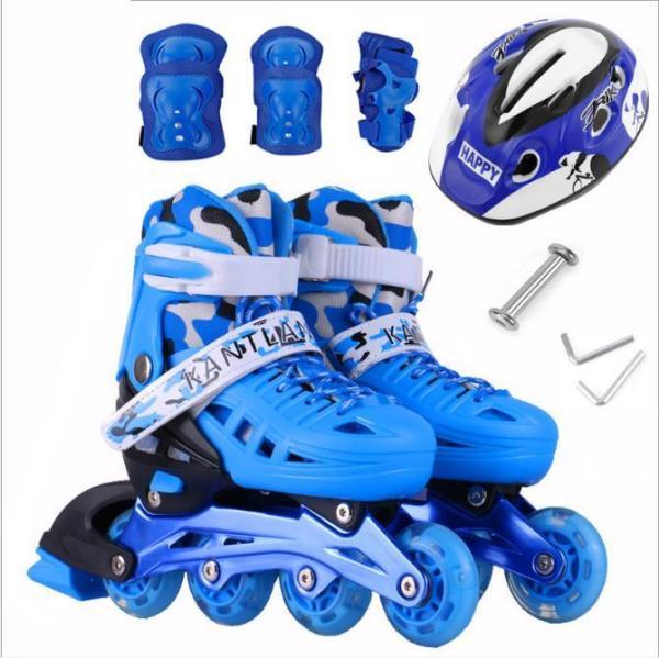 Mua Giay batin- Giày trượt patin trẻ em giá rẻ- giày patin trẻ em tặng kèm mũ và đồ bảo hộ. Bảo hành uy tín
