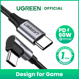 UGEEN USB Type C to USB C PD 60W Cable for Samsung Galaxy S9 Note 10 Fast Charger Cable for Macbook Pro Support Quick Charge4.0 USB Cord thumbnail