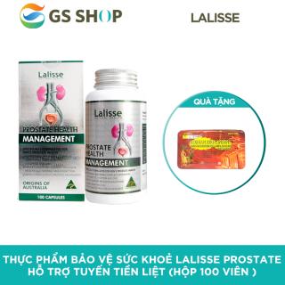 Thực phẩm bảo vệ sức khoẻ Lalisse Prostate hỗ trợ tuyến tiền liệt (hộp 100 viên ) TẶNG 1 Hộp Sâm Linh Chi 60 viên & 20 chai nước Đông Trùng Hạ Thảo 100ml thumbnail