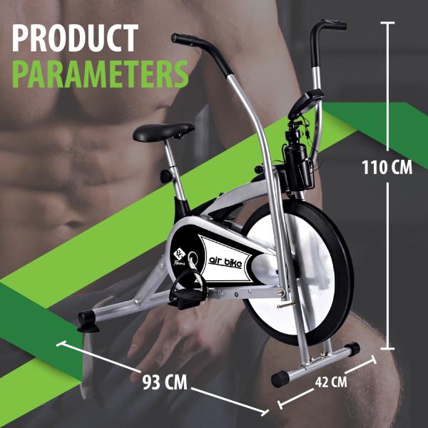BG - Xe đạp tập thể dục Air bike Mẫu mới 2020 model 8701 siêu rẻ