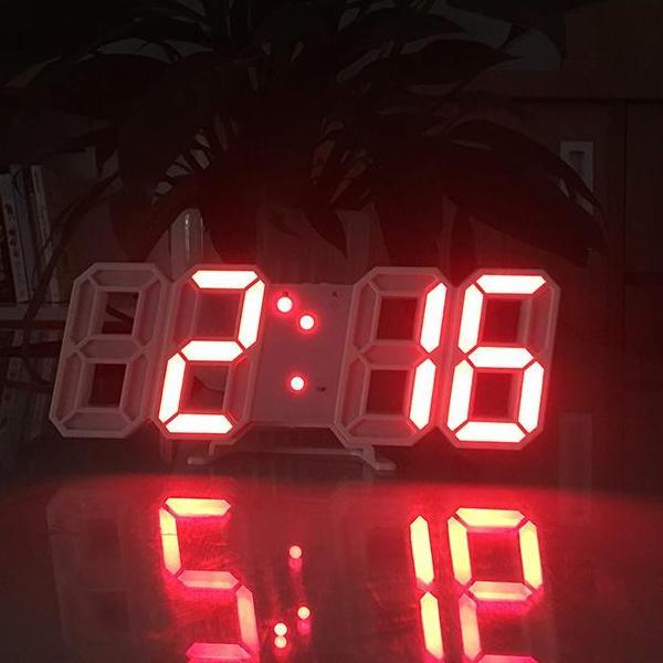 Nơi bán Đồng hồ Điện Tử 3D Để Bàn kèm PIN và CAB - Đồng hồ Treo Tường Cao Cấp - Báo Thức & Đo Nhiệt Độ - DH92