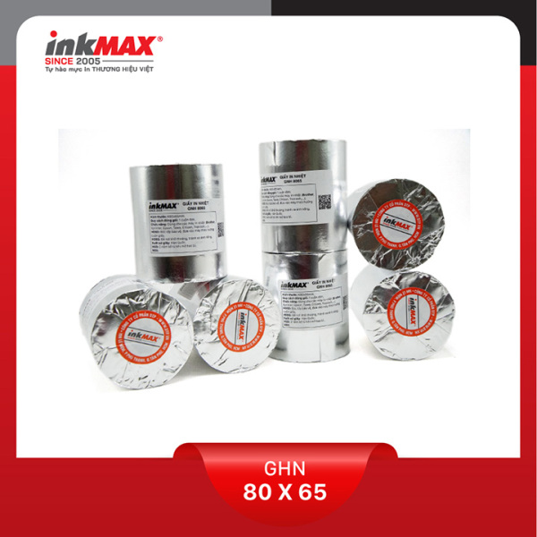 Mua ( Combo 50 cuộn ) Giấy in nhiệt K80x65 - Giấy in BILL - Giấy in hóa đơn - Hàng chính hãng inkMAX