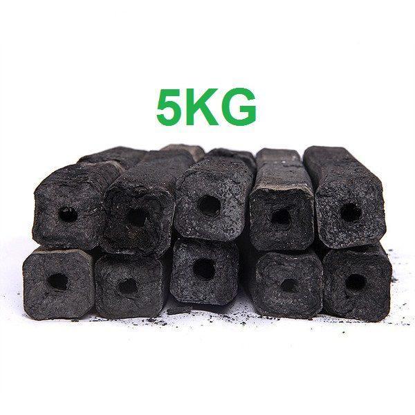 Than Nướng Sạch Không Khói Bbq Hộp 5kg Tiện Lợi Tặng Kèm Cồn Thạch By Vải Thiều Sấy.