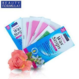 Miếng dán tẩy lông du lịch Beauty Formulas Wax Strips Compact Travel Pact - 20 miếng thumbnail