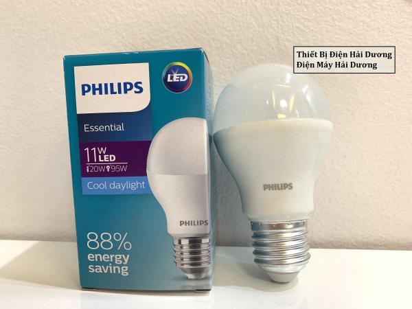Bóng Đèn Philips Led Ess Ledbulb 11w Đuôi E27 230v A60 Ánh Sáng (Trắng/Vàng)