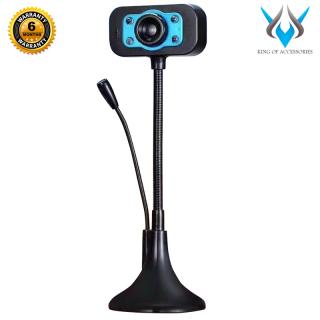 [HCM]Webcam KM 720p HD hình ảnh và micro trên 1 đầu USB - tích hợp 4 đèn led trợ sáng (nhiều màu) - Phụ Kiện 1986 thumbnail