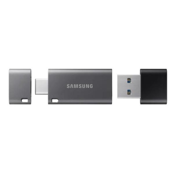 Bảng giá USB OTG Samsung Flash Drive DUO Plus 32GB / 64GB / 128GB / 256GB cổng USB 3.1 và Type-C 400MB/s (Xám) - Phụ Kiện 1986 Phong Vũ