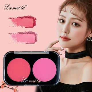 TAKOYA - Phấn má hồng lâu trôi LAMEILA hộp 2 ô màu siêu hot phấn má nội địa Trung TK-PH01 thumbnail
