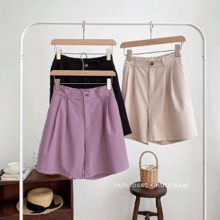 quần short nữ , Quần sooc kaki hàn, Chất liệu kaki hàn ,mềm,nhẹ,mát ,Kiểu dáng hot trend năm nay thumbnail