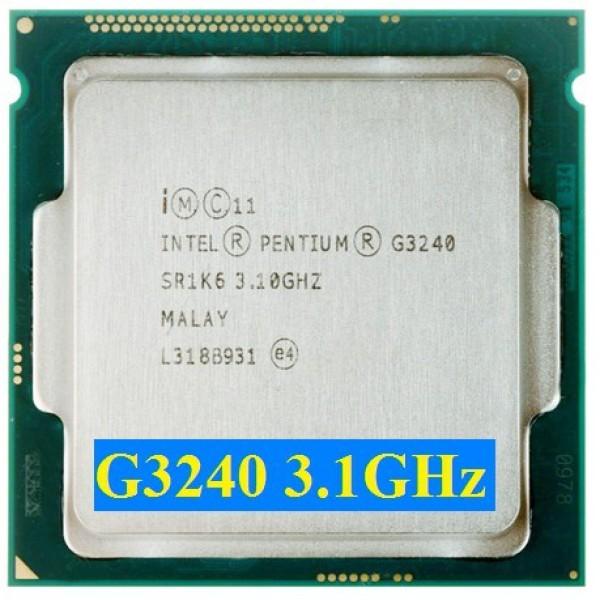Giá Đặc điểm nổi bật của CPU Intel G3240 củ ( kèm theo Fan)