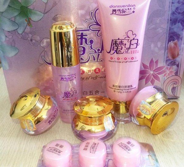 Bộ mỹ phẩm hoàng cung hồng cao cấp 5in1 tốt nhất