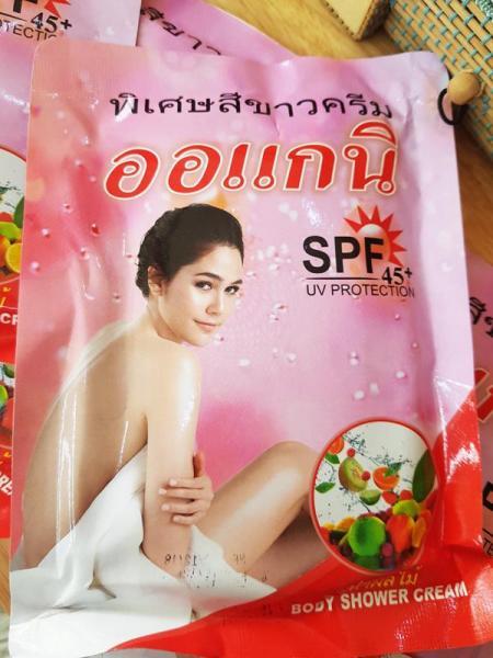 Tắm Khô Thailand - Trắng Nhanh, Siêu Mịn, Hiệu Quả, Hương Trái Cây tốt nhất