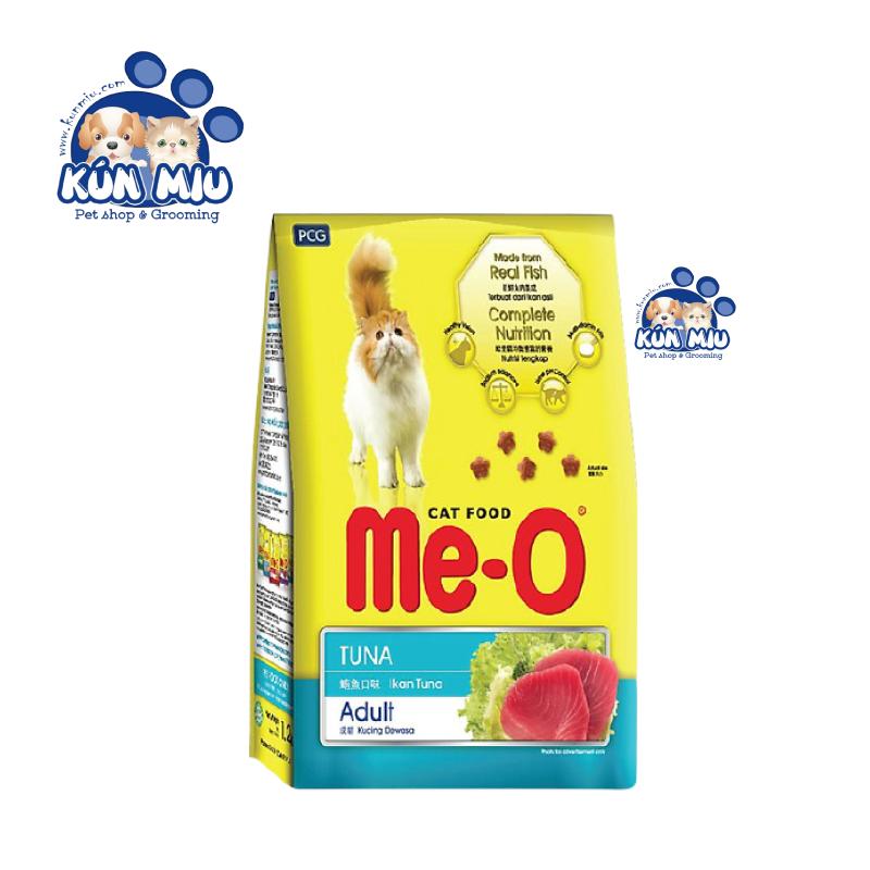 Combo 3 gói Thức ăn cho mèo lớn đã trưởng thành trên 1 tuổi Me-O Adult Cá ngừ 350gr