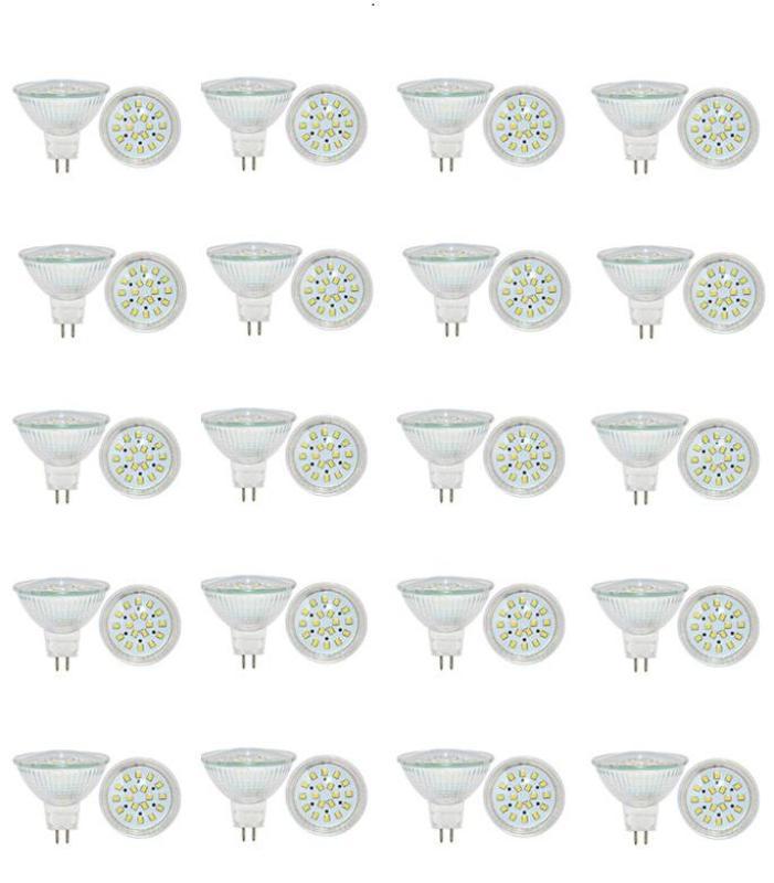 Bộ 20 bóng đèn Led (bóng Led chén) chiếu điểm chân ghim 5W