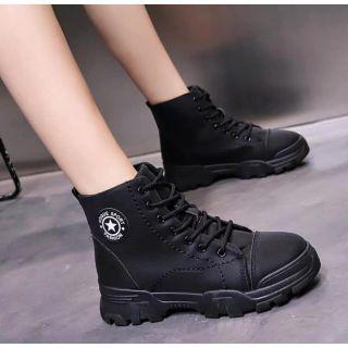 Giày Bốt nữ cổ ngắn QSB89 - Hàng đẹp giá tốt