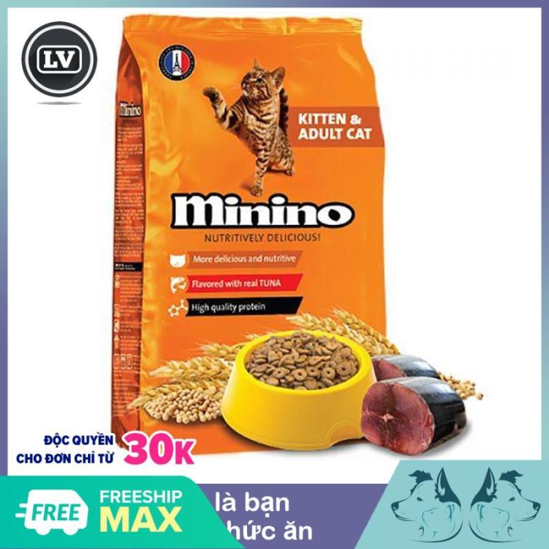 Hạt khô cho mèo - Thức ăn cho mèo MININO Vị cá Ngừ Dành cho mèo mọi lứa tuổi (Lưu ý có 2 phân loại mọi người lưu ý dùm ạ )
