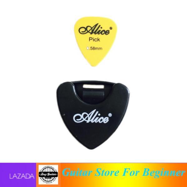 Hộp đựng phím đàn Giắt phím đàn guitar Alice - Pick holder Alice Phụ kiện đàn guitar giá tốt - Duy Guitar Shop phím đàn guitar