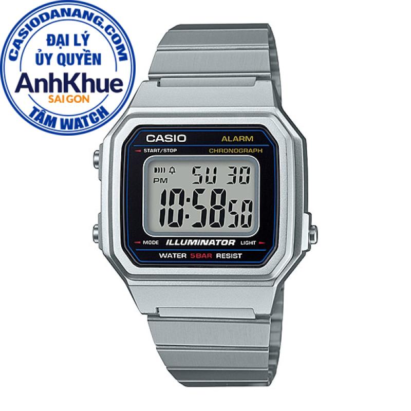 Đồng hồ unisex dây kim loại Casio Standard chính hãng Anh Khuê B650WD-1ADF
