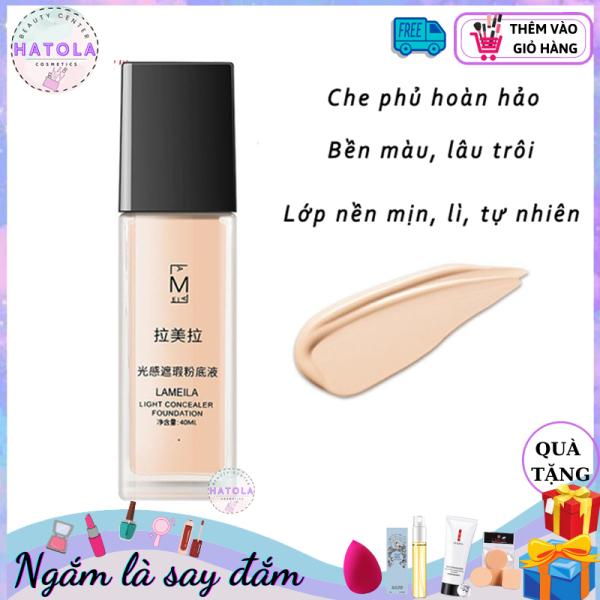 Kem Nền Light Concealer Foundation Che Khuyết BB Cream Lameila Kiềm Dầu Sáng Mịn Da 40ml - KEM-NEN-TT