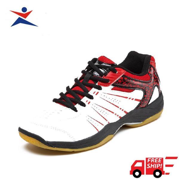 Giày cầu lông  Kawasaki K063 màu trắng đỏ siêu êm ái, siêu bền bỉ, đa dạng kiểu dáng dành cho nam và nữ