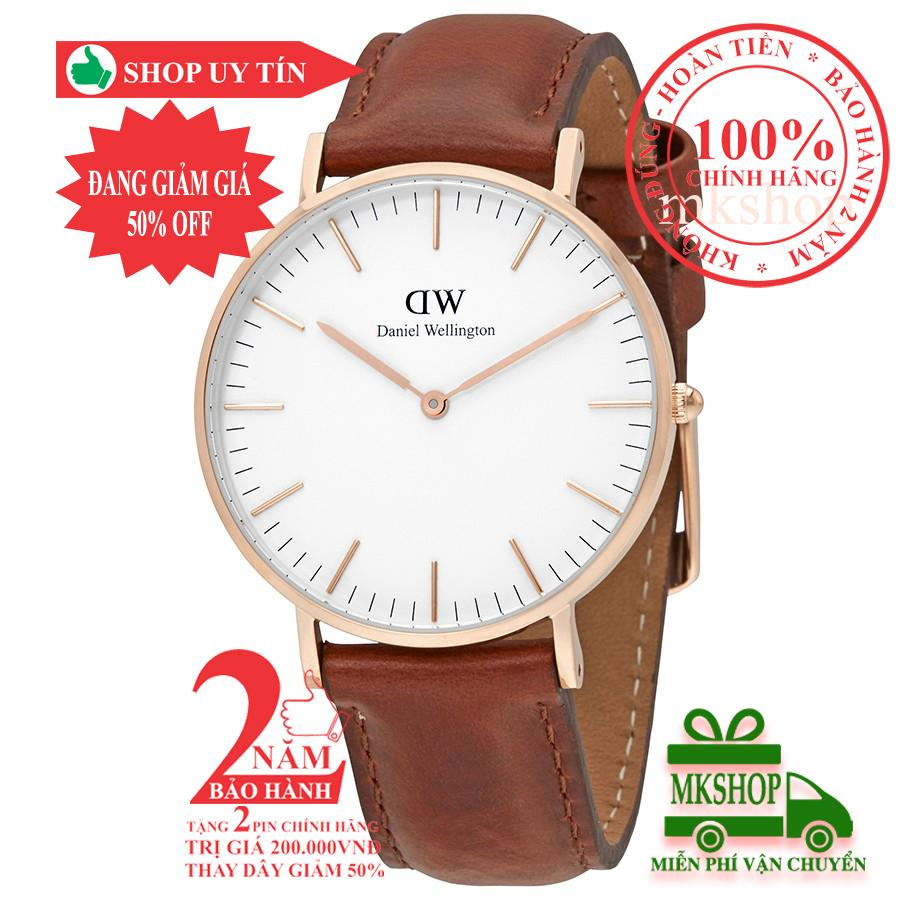 Nơi bán Đồng hồ nữ Daniel Wellington Classic St Mawes- 36mm - Màu vàng hồng (Rose Gold) DW00100035