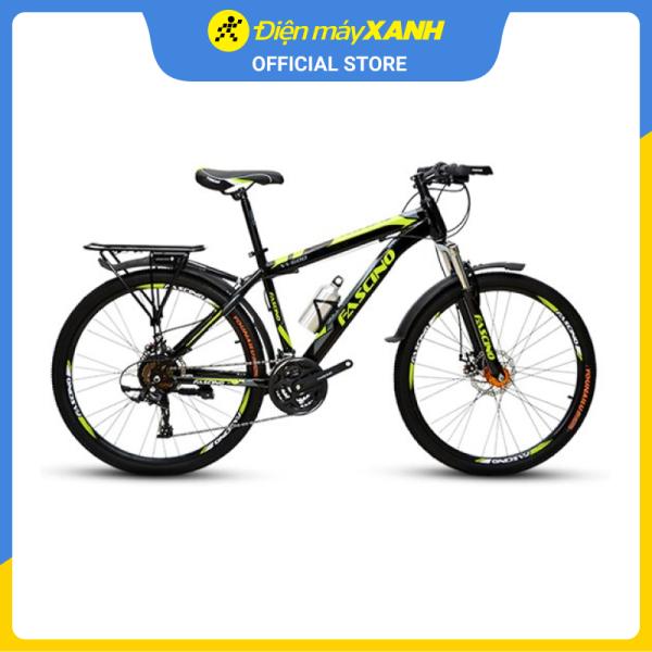 Mua Xe đạp địa hình MTB Fascino W600 26 inch Đen Xanh Lá