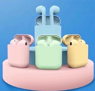 Tai Nghe Bluetooth TWS i12 Cảm Ứng siêu Nhạy Phiên Bản Màu Kim Loại Cực Chất i12 thumbnail