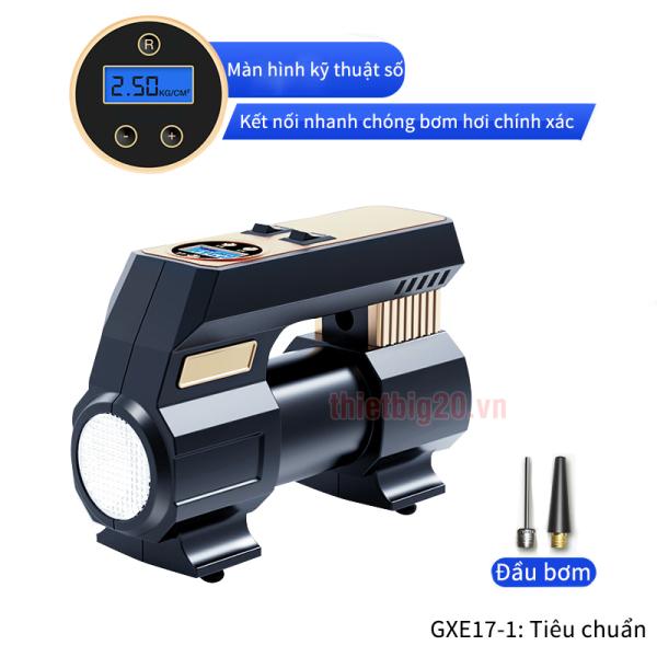 Máy bơm lốp tốc độ cao GXE17 với 2 Version (ĐIỆN 12V)