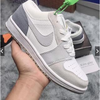 Giày Jordan Thấp Cổ, Giày Jd1 Paris Low Xám Xanh Cao Cấp thumbnail