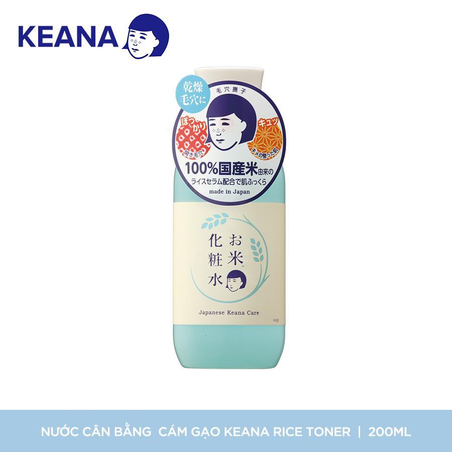 Mã Khuyến Mại Khi Mua Nước Cân Bằng Cám Gạo Keana Rice Toner (200 ML)