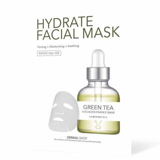 Mặt Nạ Dưỡng Da Trà Xanh - Green Tea Collagen Essence Mask thumbnail