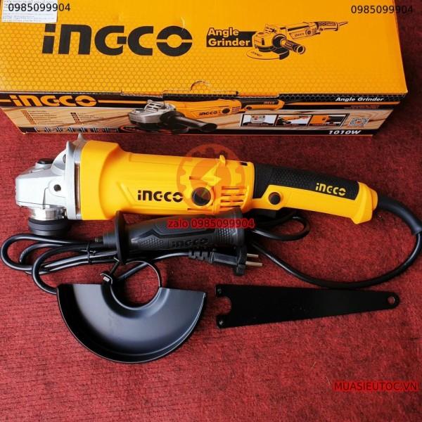 Máy mài góc 125mm ĐIỀU CHỈNH TỐC ĐỘ INGCO 1010W AG10108-5