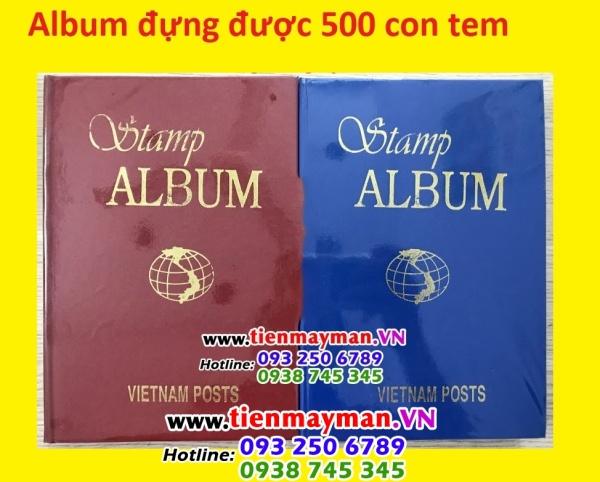ALBUM ĐỰNG 500 CON TEM CỦA VIỆT NAM