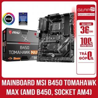 Mainboard Msi B450 Tomahawk Max Am4 - Bảo hành chính hãng Mai hoàng 36 Tháng thumbnail