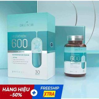 Viên Uống Trắng Da Mờ Nám GLUTATHIONE 600 ĐR LACIR thumbnail