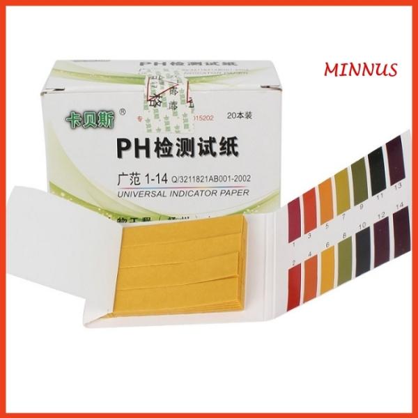 [80 miếng thử] Giấy Quỳ Tím Đo Độ pH Của Nước, Dung Dịch, Mỹ Phẩm, Nước Ối, Nước Bọt