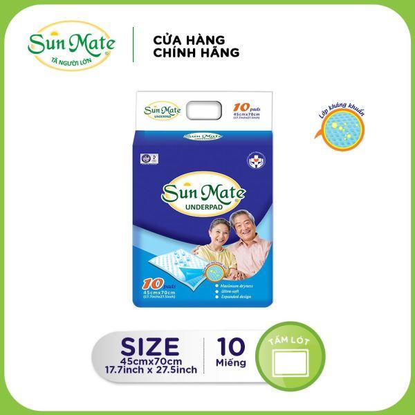 Tấm đệm lót Sunmate (10 miếng) giá rẻ