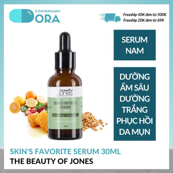 Serum dưỡng trắng cho nam Skins Favorite Serum 30ml