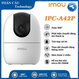 [100% CHÍNH HÃNG] Camera IP WIFI IMOU 4MP IPC-A42P Độ Nét Cao 2K - A42P Xoay 360 Độ - Đàm Thoại 2 Chiều - Camera Toàn Cầu thumbnail