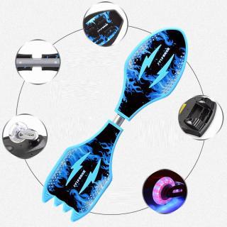 [ Tặng Túi Đựng Ván ] Ván Lắc ,Ván trượt 2 bánh có đèn phát sáng,-Skateboard Twister 2 bánh đèn LED, Ván trượt xoắn,- cao cấp , Bảo Hành 12 Tháng 1 Đổi 1 thumbnail