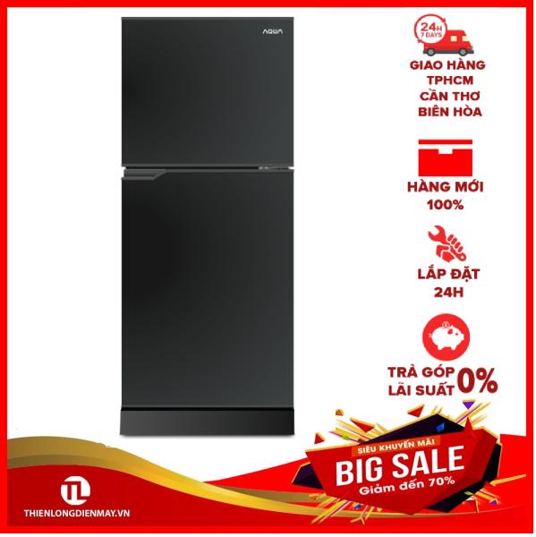 TRẢ GÓP 0% - Tủ lạnh Aqua 130 lít AQR-T150FA BS