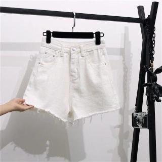 Denim Shorts Women s2021Summer New High Waist Single BreastedaWord Slimming All-Matching Loose Wide Leg Hot Pants Female Fashion thumbnail