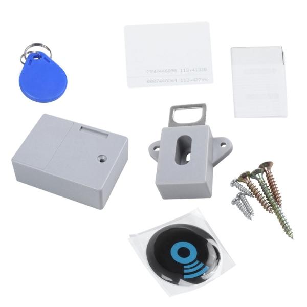 Invisible Hidden RFID Free Opening Intelligent Sensor Cabinet Lock Locker Wardrobe Shoe Cabinet Drawer Door Lock Electronic Dark Lock