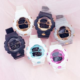 Đồng hồ điện tử thể thao nhiều màu - [ Đồng hồ thể thao cá tính, đồng hồ đeo tay nam nữ Đồng hồ học sinh Cute ] thumbnail