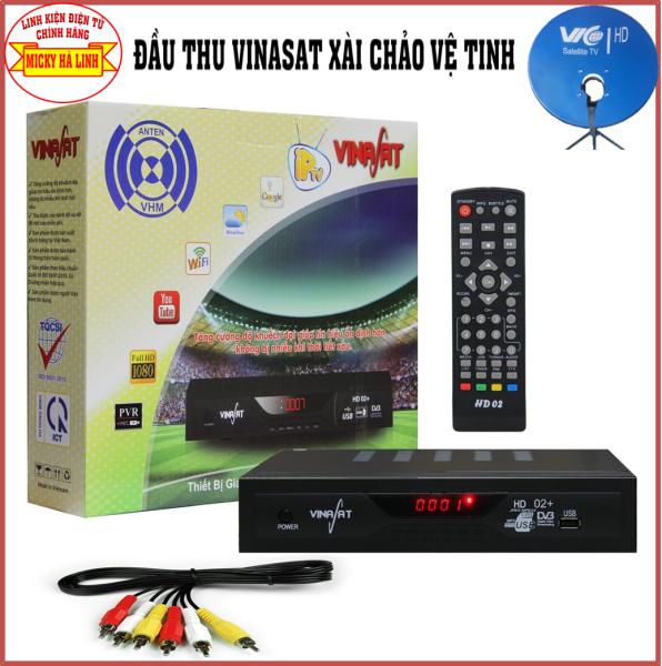 Đầu thu Vina satS2 - Xem kênh truyền hình miễn phí - xài chảo vệ tinh