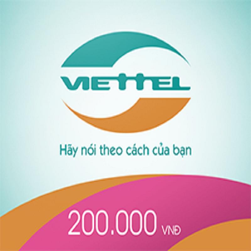 Thẻ Cào Viettel 200.000 VNĐ Giá Rẻ Nhất Thị Trường