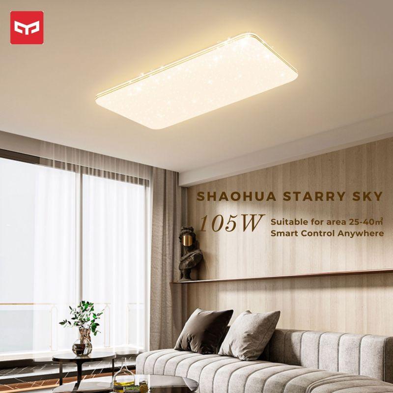 ĐÈN LED ỐP TRẦN THÔNG MINH XIAOMI YEELIGHT Phantom Starry Sky Series A2002R900-B (910x610MM – 105W – 3 NHIỆT ĐỘ MÀU)
