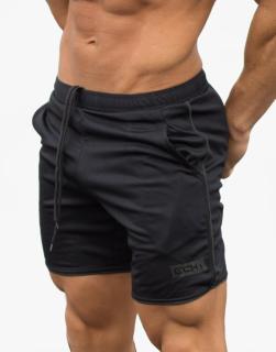 Quần đùi thể thao tập gym ECHT nam SQ470 chất liệu vải mè poly nhập khẩu, logo in tranfer firm không thể bong tróc, 2 túi 2 bên hông, lưng bằng thun co giãn. thumbnail