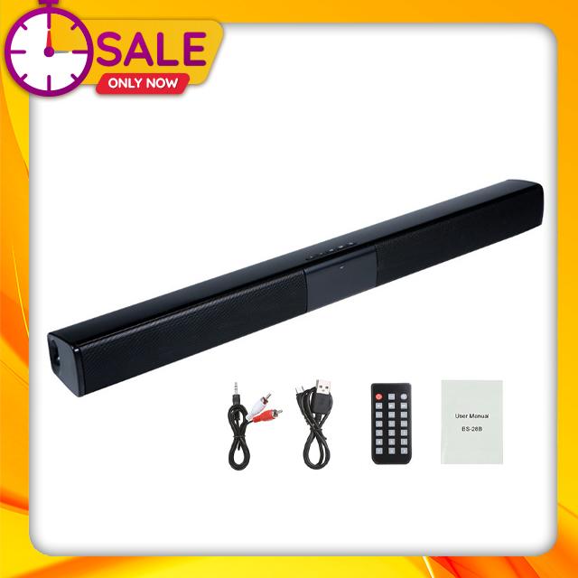 Loa Thanh Soundbar Để Bàn Gaming Hỗ Trợ Bluetooth BS-28B Dùng Cho Tivi, Laptop, Máy Vi Tính, Điện Thoại