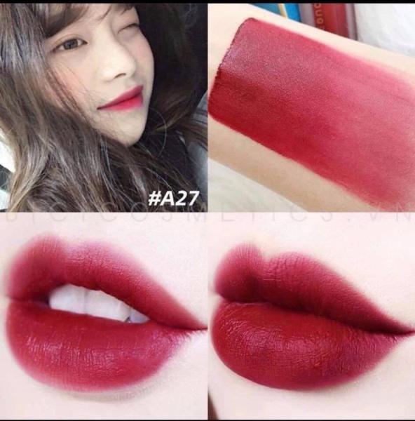 Son Black Rouge Air Fit Tint Full Màu A01-A27
